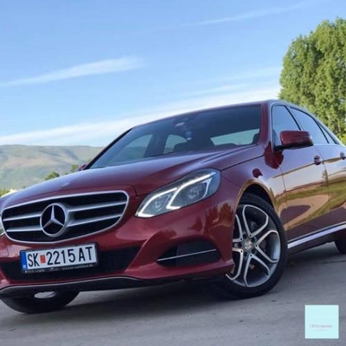 """Mercedes Benz E350 - """"9 G-Tronic"""""""